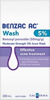 Benzac-AC-Wash-5-200mL on sale
