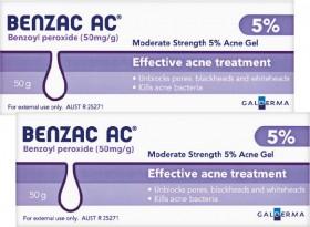 Benzac-AC-Gel-5-50g on sale