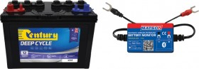 Century-Matson-N70T-Deep-Cycle-Battery-Bluetooth-Monitor-Combo on sale