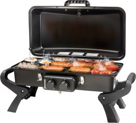 Gasmate-Adventurer-Double-Burner-Portable-BBQ on sale