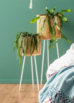 Ombre-Home-Boho-Bloom-Rattan-Planter-Stands on sale