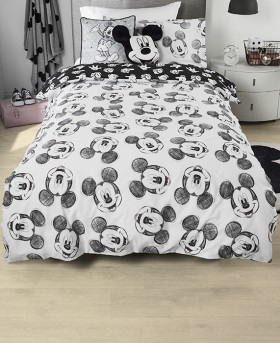Disney-Mickey-Black-Edition-Quilt-Cover-Set on sale