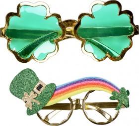 25-off-St-Patricks-Day-Shamrock-Glasses on sale