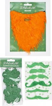 25-off-St-Patricks-Day-Orange-Beard-Moustache on sale