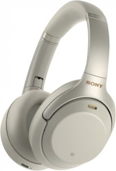 Sony-Premium-Noise-Cancelling-Wireless-Headphones-Silver on sale