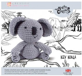 NEW-Knitty-Critters-Kev-Koala-Pattern on sale