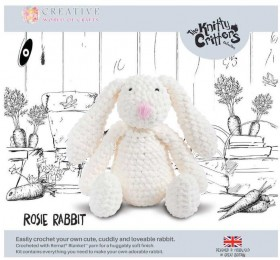 NEW-Knitty-Critters-Rosie-Rabbit-Pattern on sale
