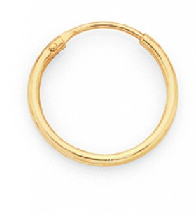 9ct-Gold-10mm-Nose-Ring on sale