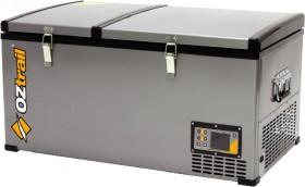 Oztrail-80L-Dual-Zone-FridgeFreezer on sale
