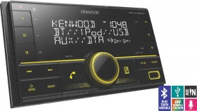 Kenwood-Double-Din-Digital-Media-Player-With-Bluetooth on sale