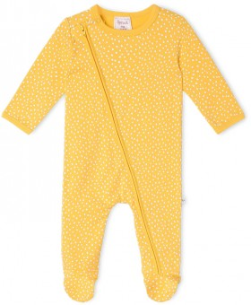 Sprout-Newborn-Coverall-Mustard on sale