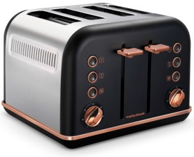 Morphy-Richards-Accents-Rose-Gold-Collection-4-Slice-Toaster on sale