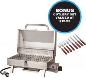 NEW-Rovin-Portable-Gas-BBQ on sale