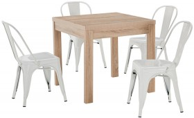 Havana-5-Piece-Dining-Set-with-Replica-Tolix-Chairs on sale