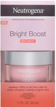 NEW-Neutrogena-Bright-Boost-Brightening-Gel-Moisturising-Face-Cream-with-N-50mL on sale