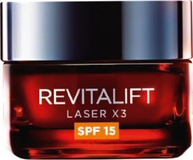 LOral-Paris-Revitalift-Laser-X3-Intensive-Anti-Ageing-Day-Moisturiser-SPF15-50mL on sale
