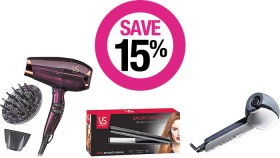 Save-15-on-VS-Sassoon-Hair-Electrical on sale