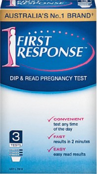 First-Response-Pregnancy-Test-3-Pack on sale