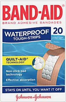 Band-Aid-Tough-Strips-Waterproof-20-Pack on sale