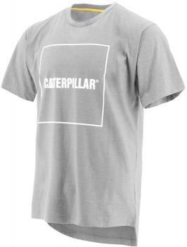CAT-Drop-Tail-SS-Logo-T-Shirt on sale