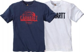 Carhartt-Maddock-Hammer-Graphic-Block-Logo-SS-T-Shirt on sale