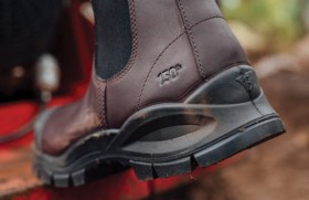 NEW-Blundstone-9150-150th-Anniversary-Elastic-Sided-Safety-Boots-with-TPU-Toe-Guard on sale