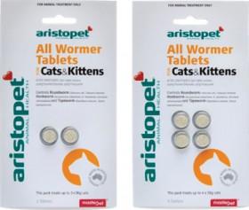 Aristopet-CatKitten-Wormer-Tablets on sale