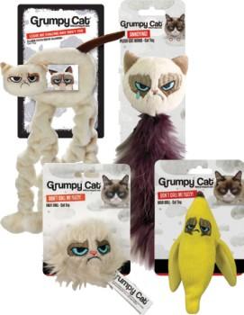 NEW-Grumpy-Cat-Toy-Range on sale