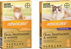 Advocate-Flea-Heartworm-Worming-Treatment-for-Cats-6-Pack on sale