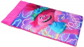 Trolls-World-Tour-Deluxe-Slumber-Bag-with-Fur on sale