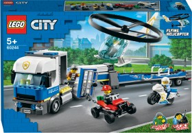LEGO-City-Police-Helicopter-Transporter-60244 on sale
