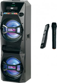 JVC-Bluetooth-Party-Speaker-with-Built-in-DVD-Player on sale
