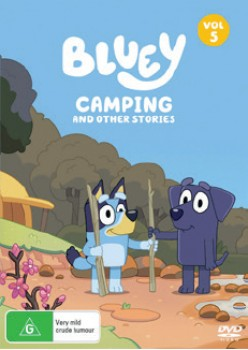 NEW-Bluey-Camping-And-Other-Stories-Volume-5-DVD on sale