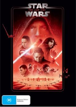 Star-Wars-The-Last-Jedi-DVD on sale