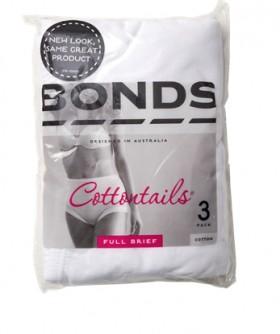 Bonds-3-Pack-Womens-Cottontails-Briefs-White on sale