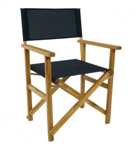 House-Home-Directors-Chair-Black on sale