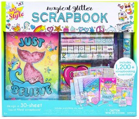 Just-My-Style-Magical-Glitter-Scrapbook on sale