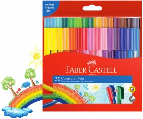 Faber-Castell-30-Connector-Pens on sale