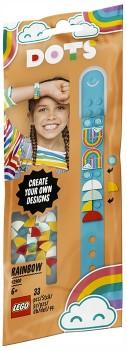NEW-LEGO-Dots-Rainbow-Bracelet-Kit-41900 on sale