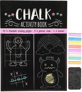 Chalk-Activity-Book on sale