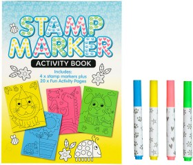 Stamp-Marker-Activity-Book on sale