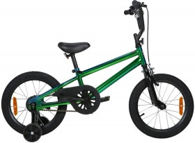 40cm-16-Green-Oil-Slick-Finish-Bike on sale