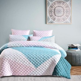 Over-60-off-Koo-Terrazzo-Quilted-Quilt-Cover-Set on sale