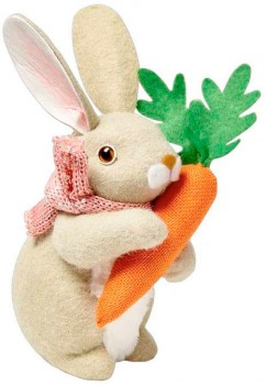 30-off-Happy-Easter-Bunny-with-Carrot on sale