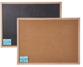Crafters-Choice-Black-Cork-Board-60x45cm on sale