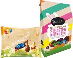 Darrell-Lea-Easter-Hunt-Egg-Bag-357g-or-Lindt-Solid-Egg-Bag-300g on sale