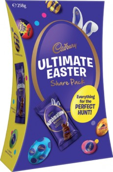 Cadbury-Ultimate-Easter-Share-Pack-258g on sale