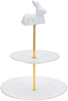 2-Tier-Cake-Stand on sale