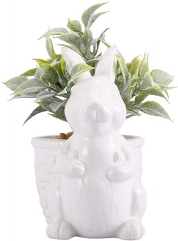 Bunny-with-Plant on sale