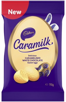Cadbury-Caramilk-Egg-Bag-110g on sale